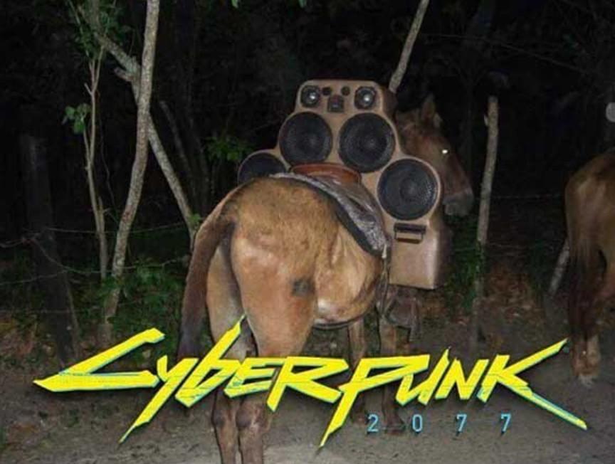 CyberMula - meme