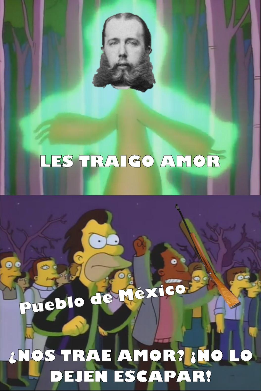 pobre maximiliano de habsburgo - meme