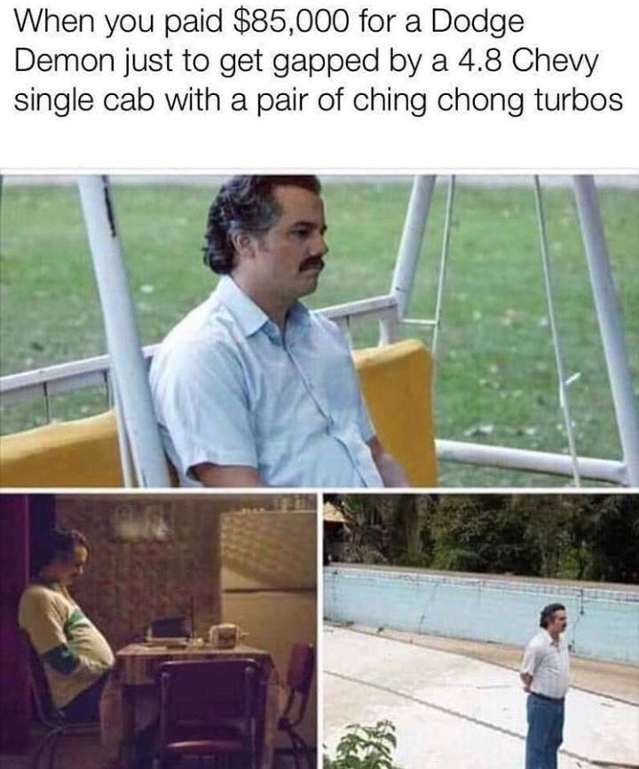 Sloppy mechanics - meme