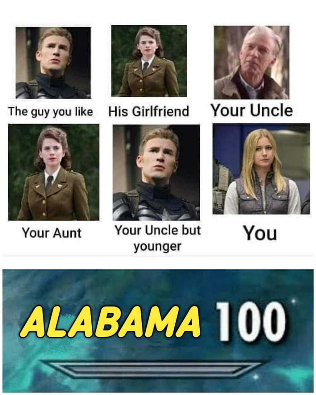 Never knew she was from Alabama! - meme