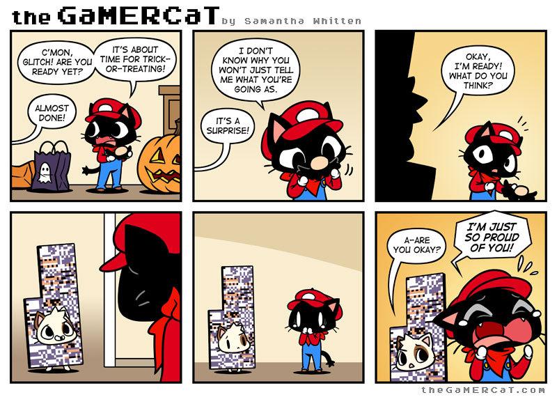 Spooktober glitch - meme