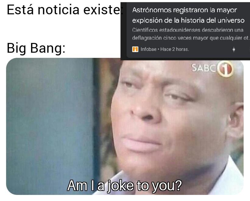 EFE POR EL GRAN BOOM - meme
