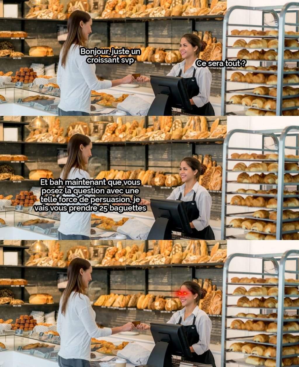 Boulangère : stonks - meme