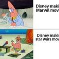 Marvel vs Star Wars movies