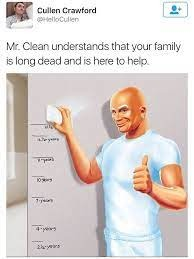 thanks mr clean - meme