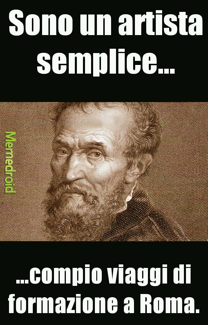 Artisti semplici - meme