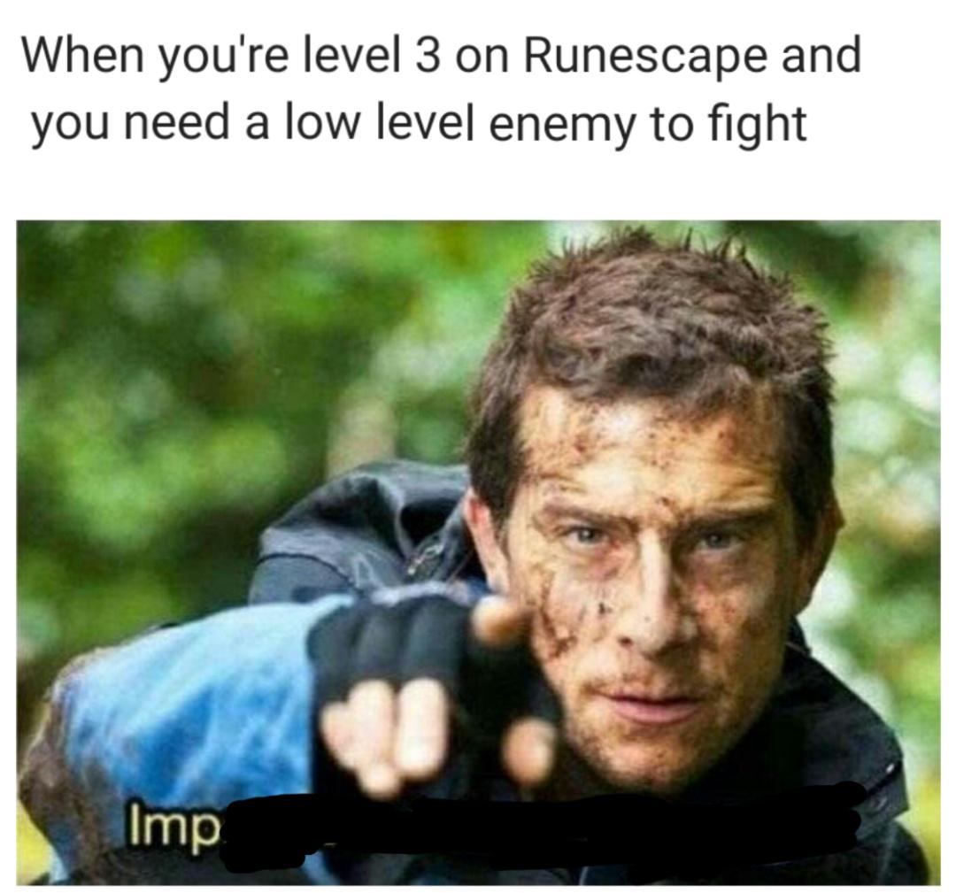 Bronze armor=noob - meme