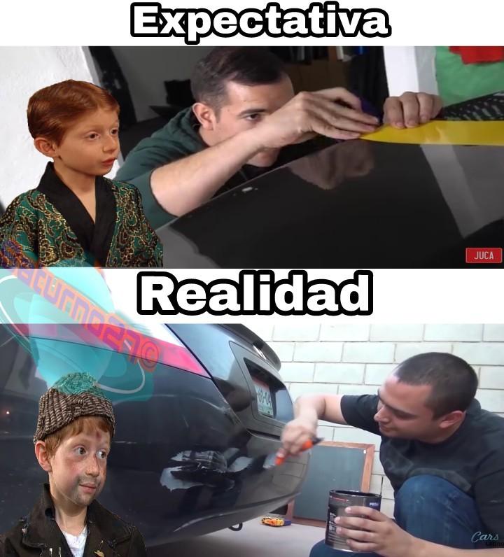 No me burlo de ninguno de los youtubers - meme