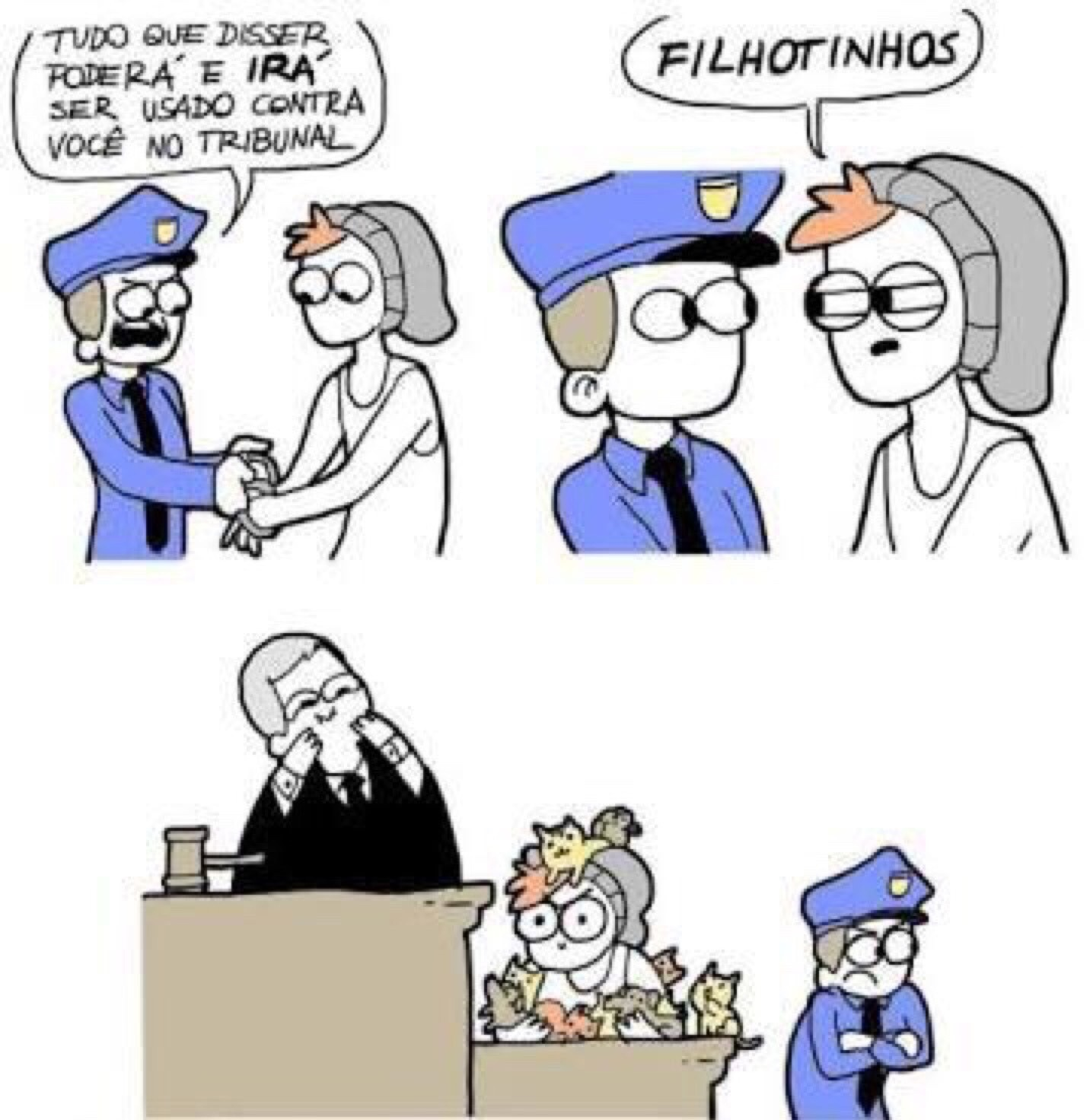 FILHOTINHOS - meme