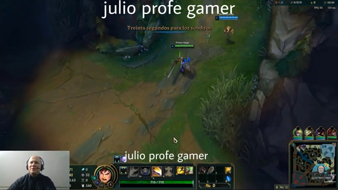 Julioprofe gamer - meme