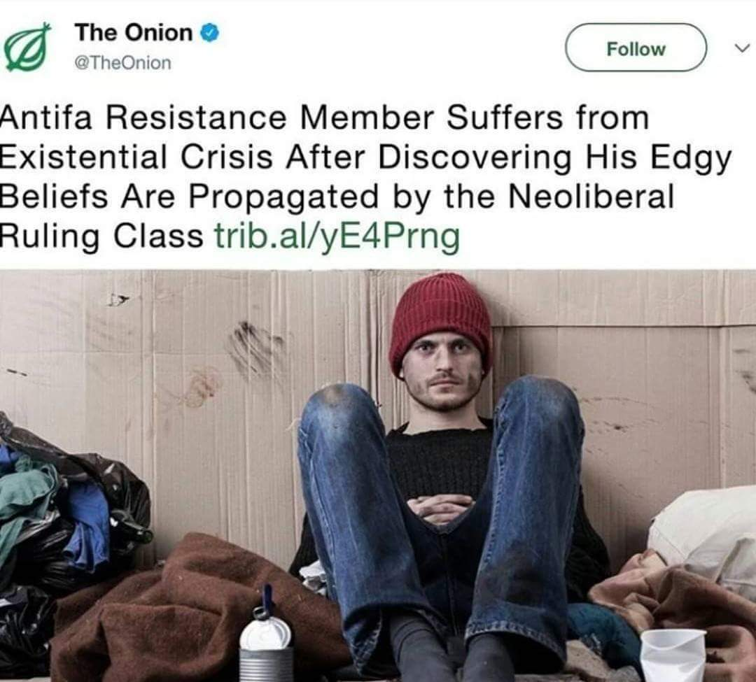 When The Onion stops being a parody news and is more truthful than the mainstream media - meme