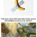 Um colecionador francês pagou US$ 120 mil nessa banana.
