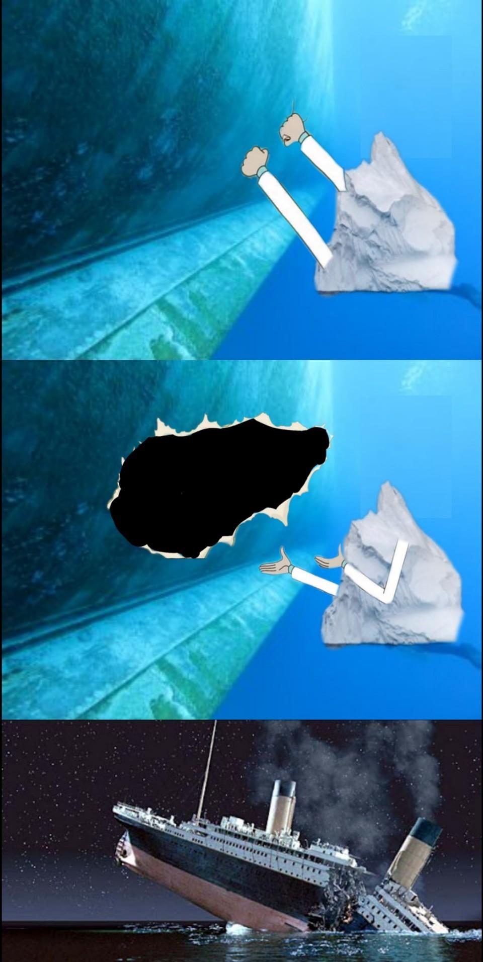 Sad titanic noises - meme