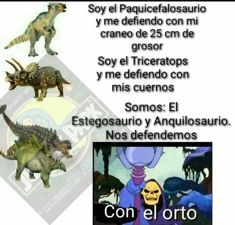 Dinos - meme