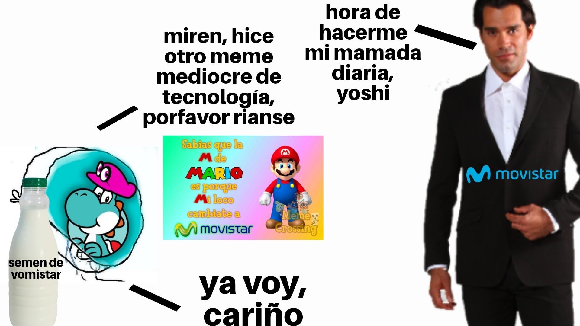 Reputo el yoshi - meme