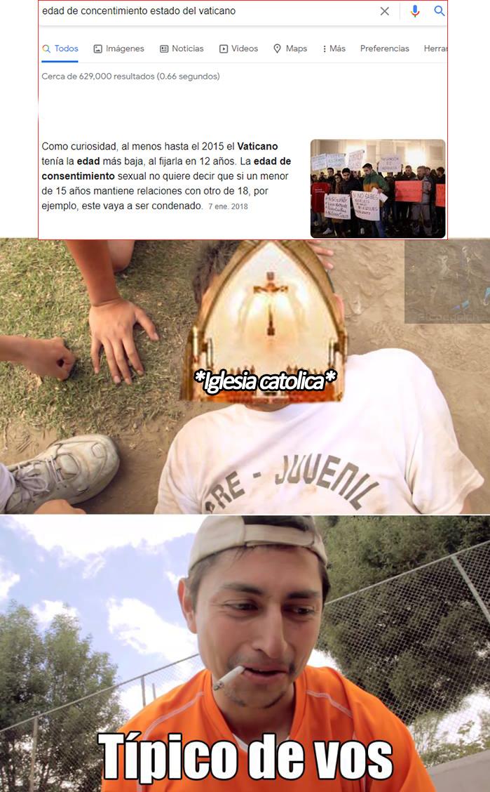 jsjsjs, chupala japon, el vaticano te gana en enfermo XDDDDD - meme