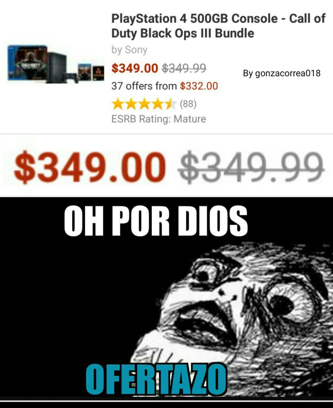OH POR DIOS! (Si no me creen, busquen en Amazon xD) - meme