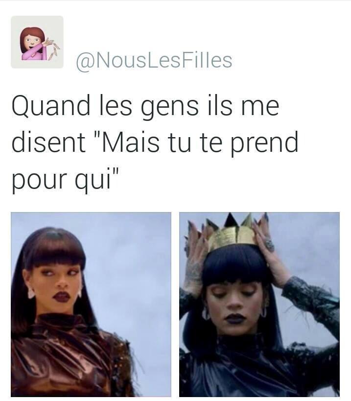 I'm the queen ! - meme