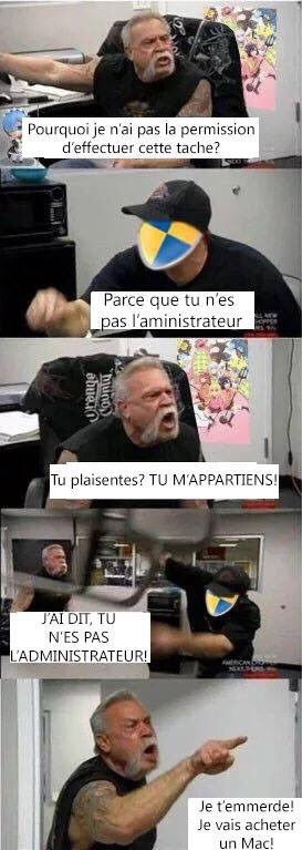 administrateur - meme