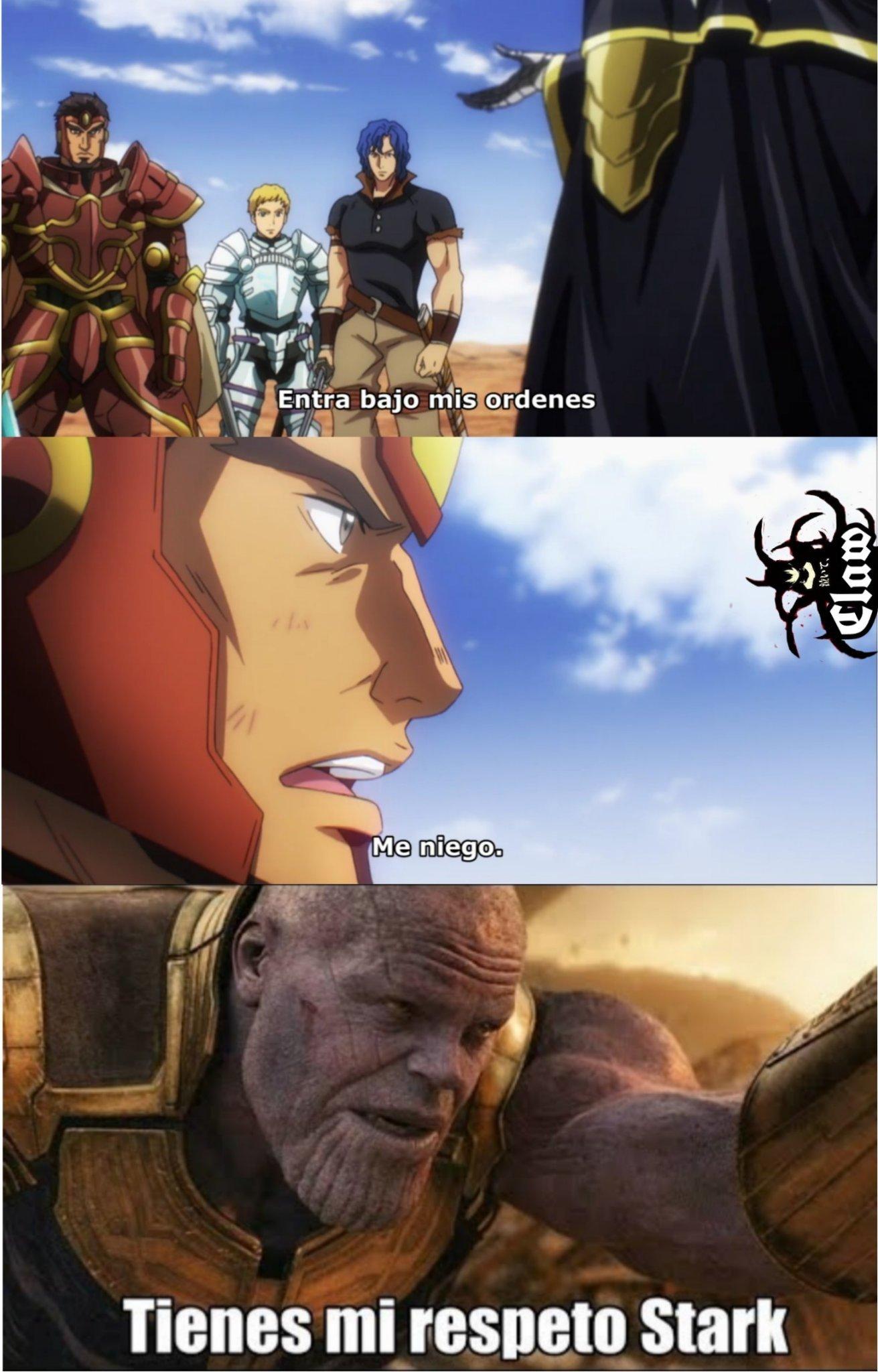 Ains-sama rey mago - meme