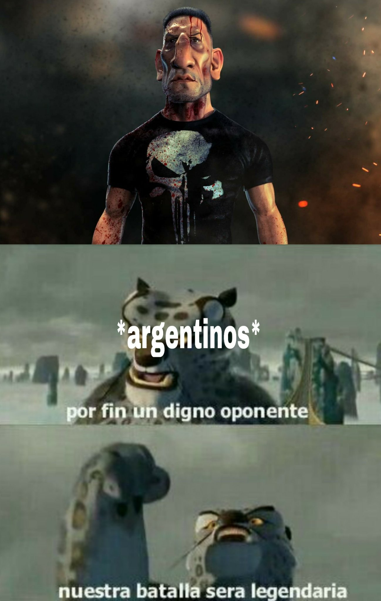 Punisher argentino - meme