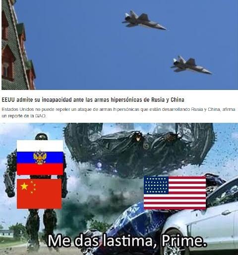 Estados unidos ya huele el miedo - meme