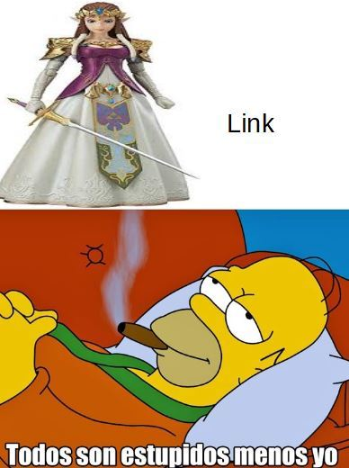 the legend of link - meme