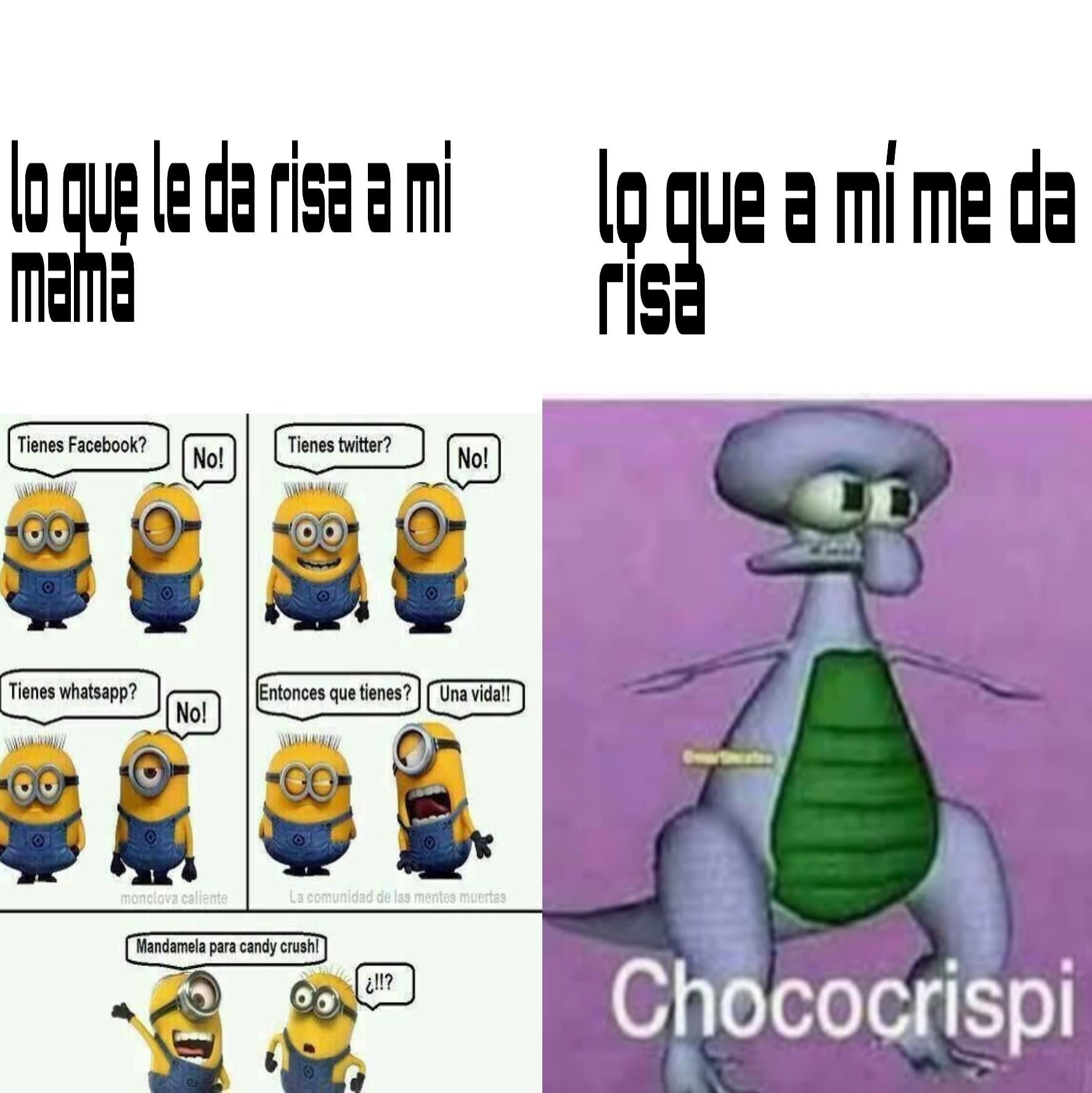 Chococrispi - meme