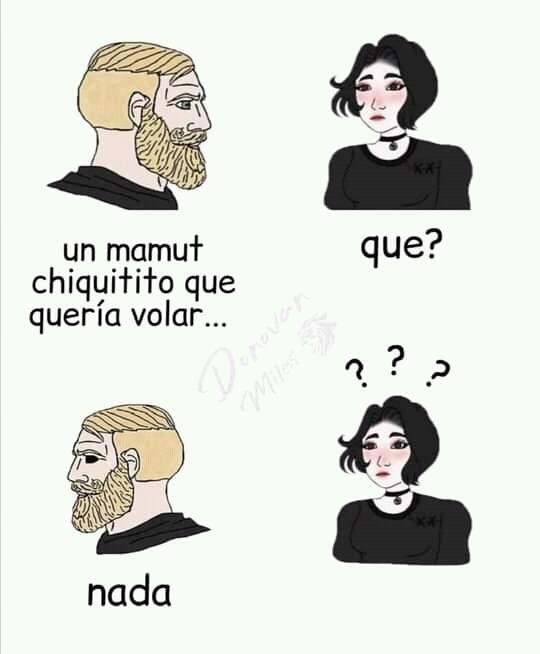 Un Mamut - meme