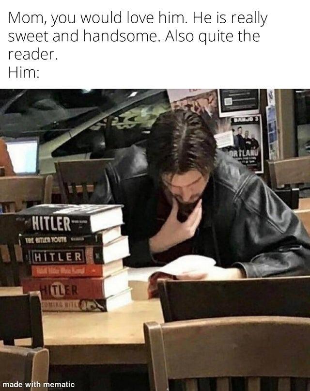 Hitler fan - meme