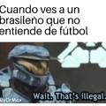 Realmente no es un brasileño