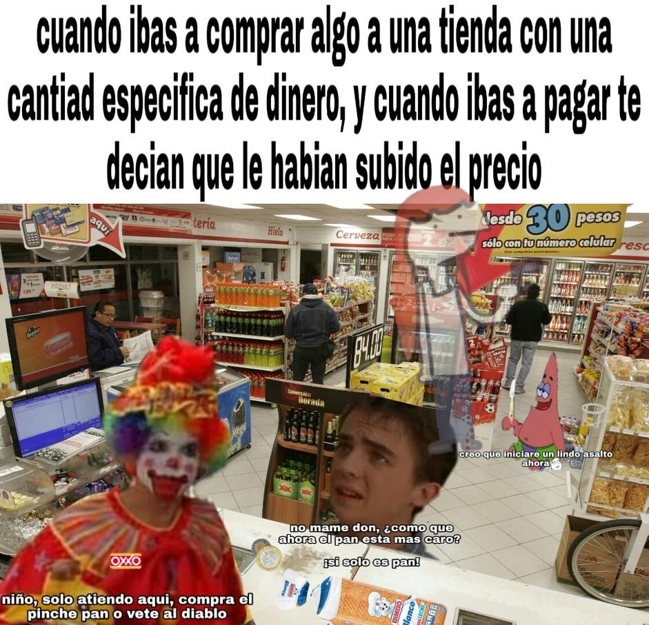 Noooooo, ya no compre el pan :crying: - meme