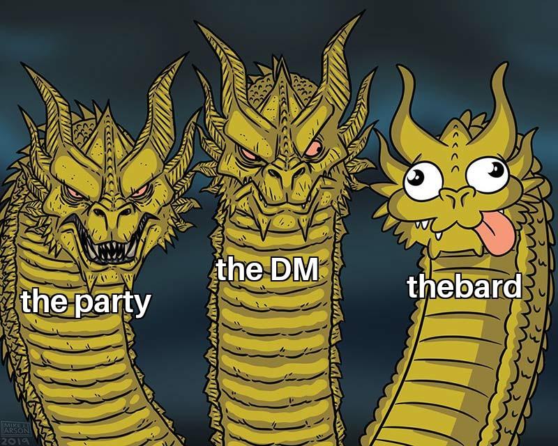 D&D - meme