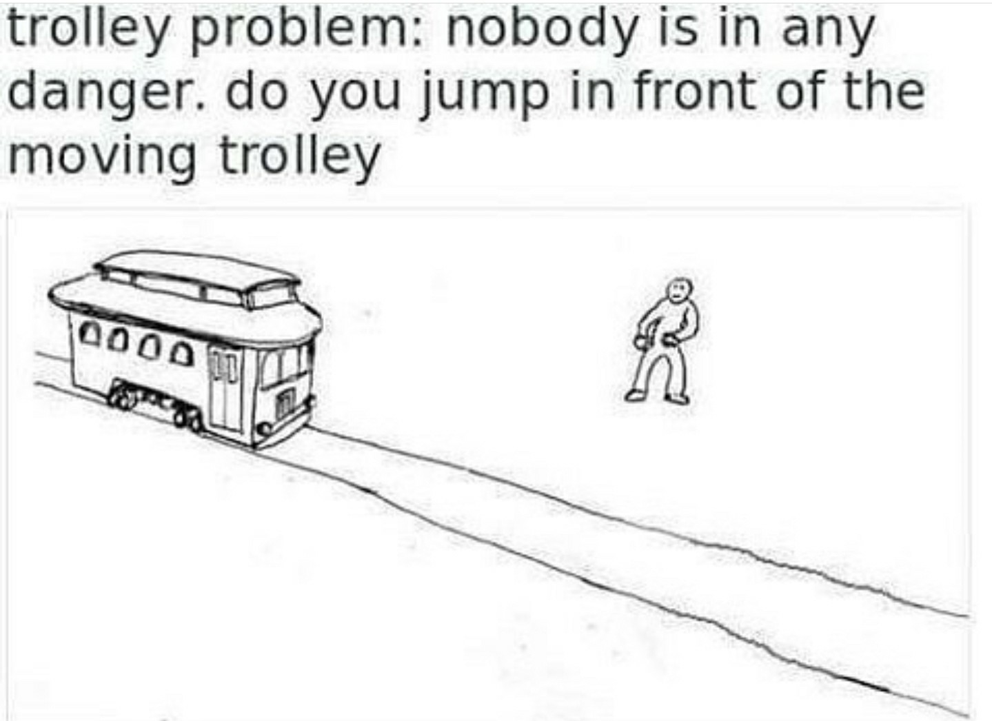 Tough dilemma - meme