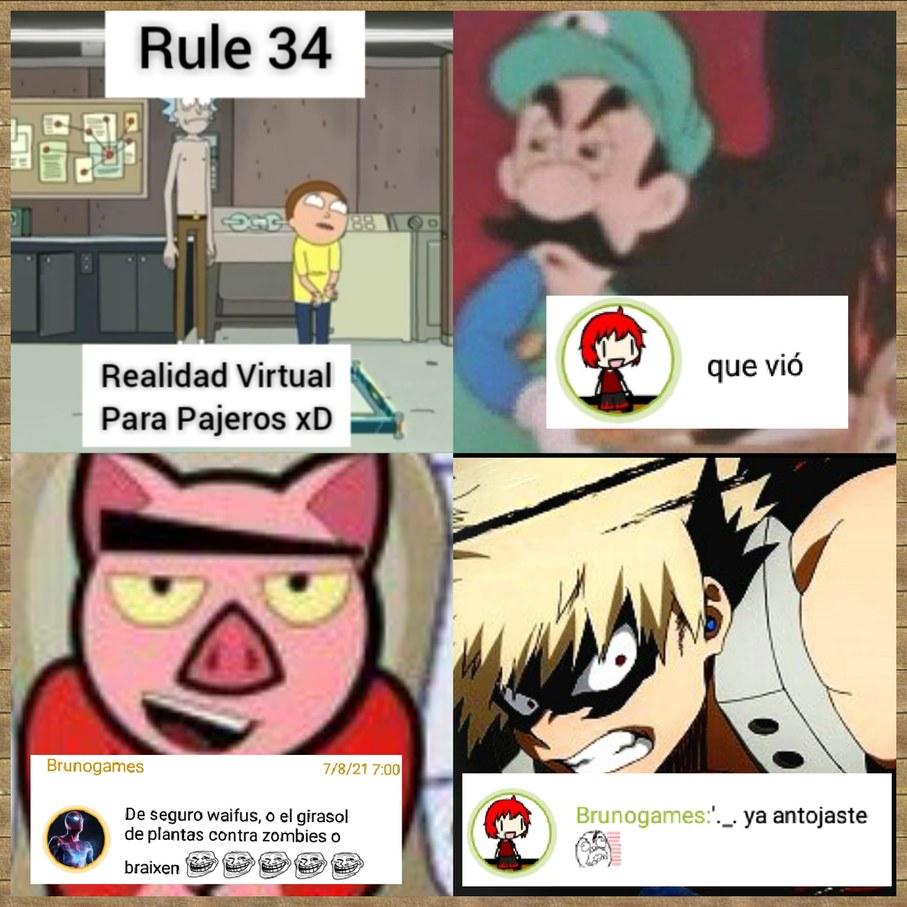 RESPUESTA AGRESIVA - meme