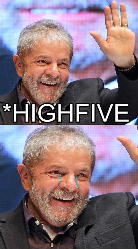 Lula crying litros. - meme