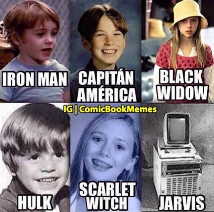 young avengers - meme
