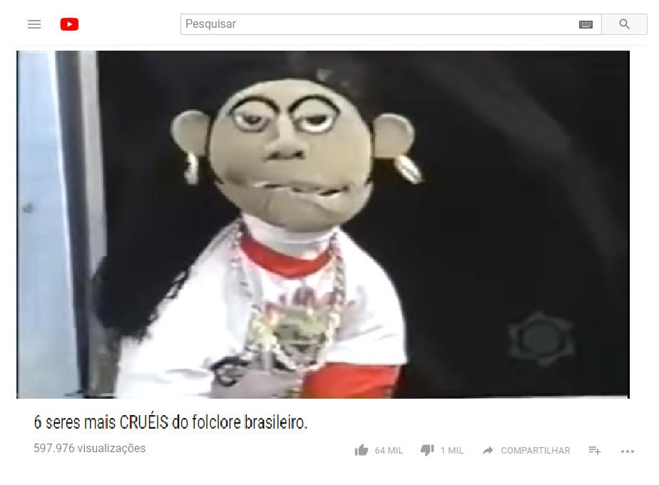 O famoso folclore br - meme