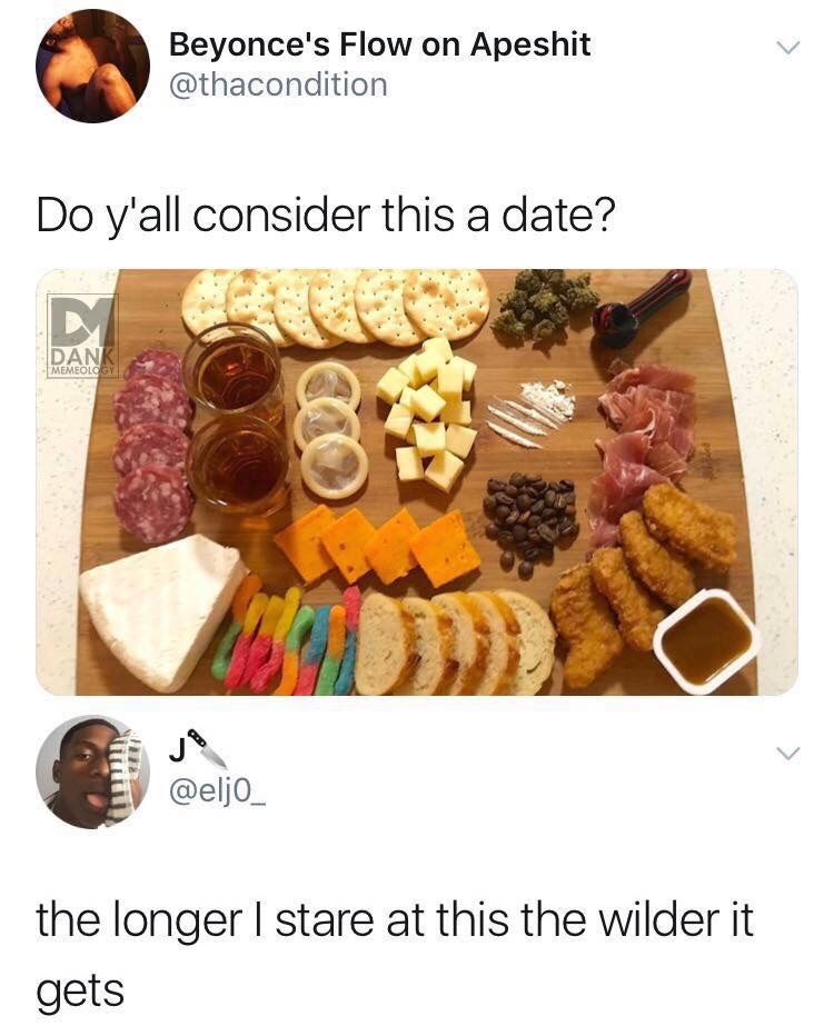 Definitely a party - meme