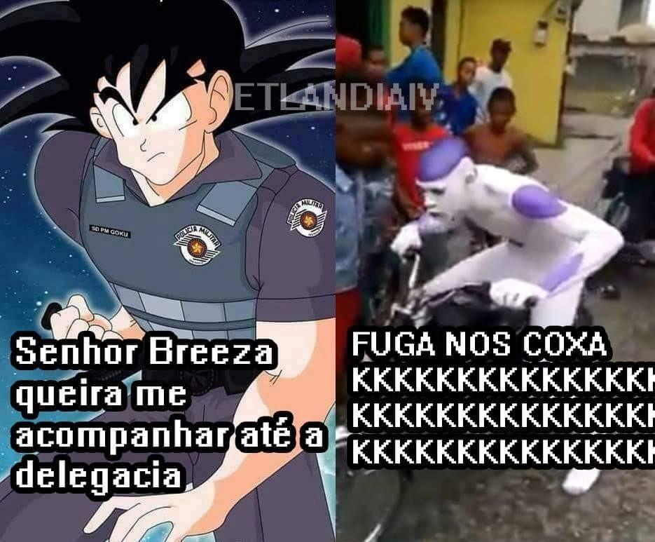 GOKU PM TÁ PUCTO - meme