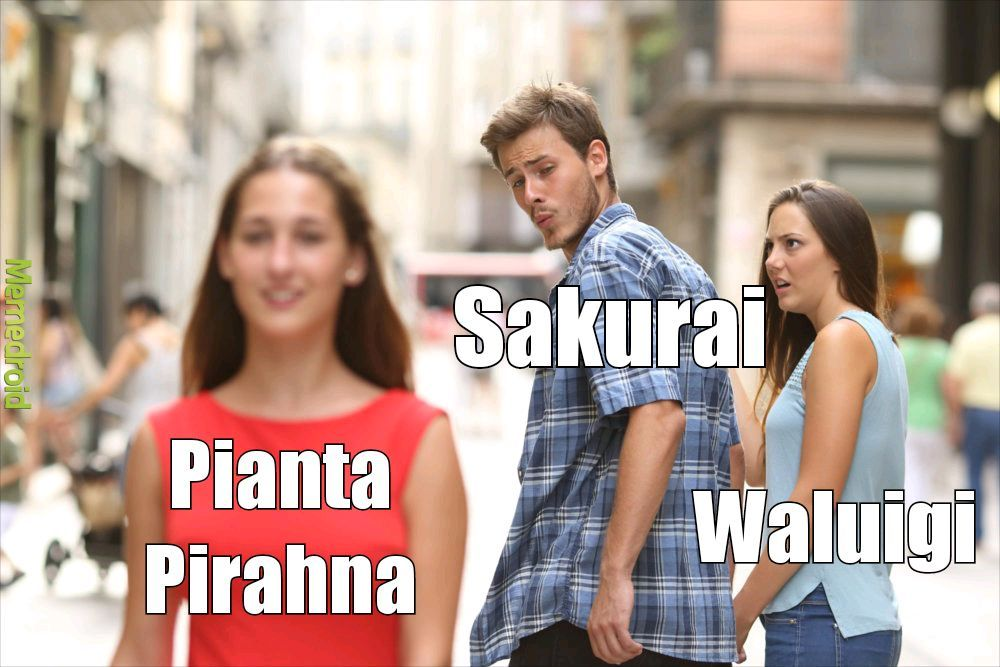 Le decisioni di Sakurai - meme