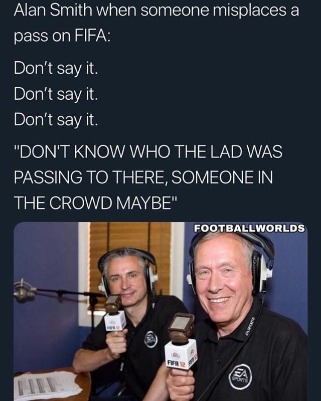 where my football people at - meme