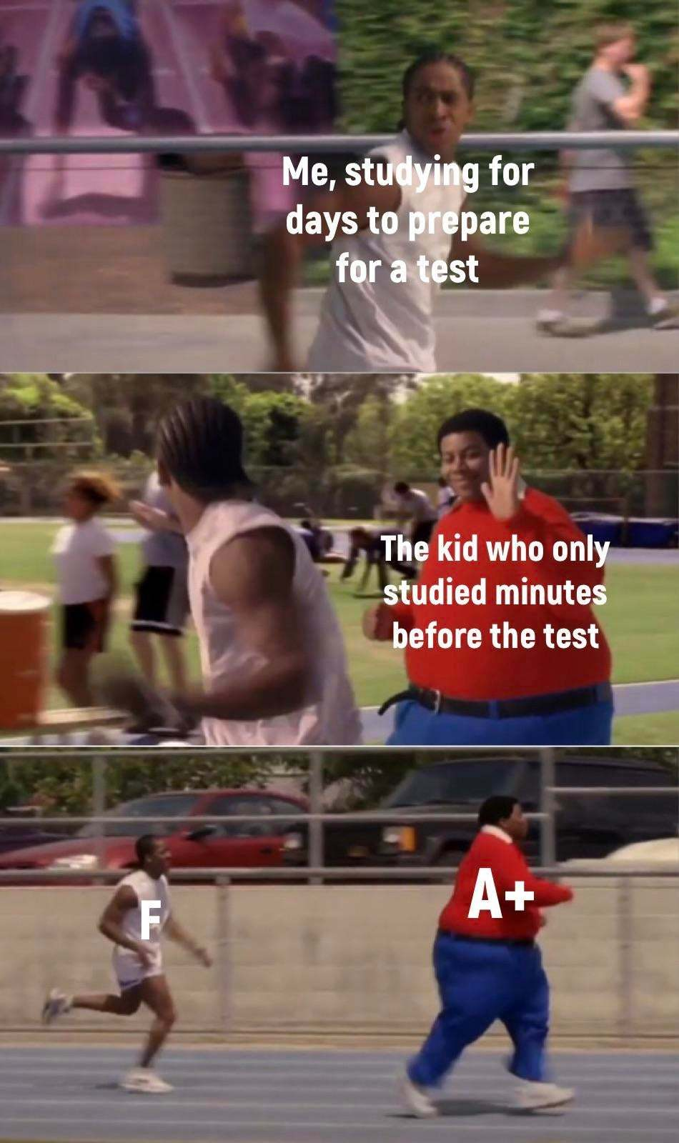 Why it gotta be like that - meme