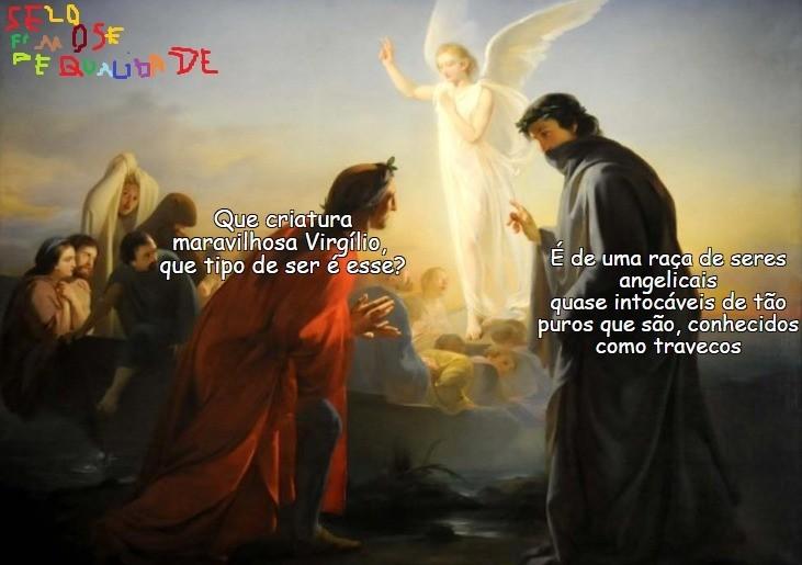 Dante e Virgílio-2 - meme