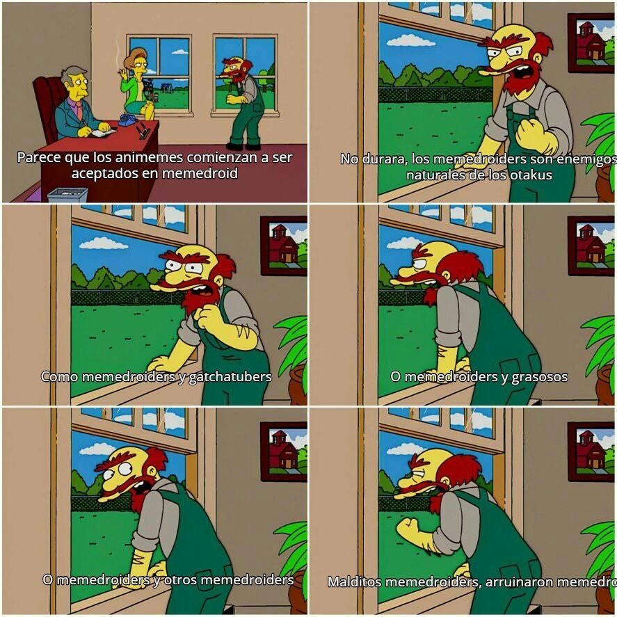 Como los del server español e ingles - meme