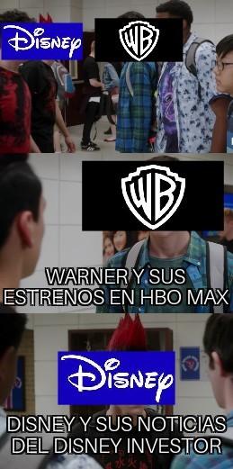 Warner se recontra fue a la chucha - meme