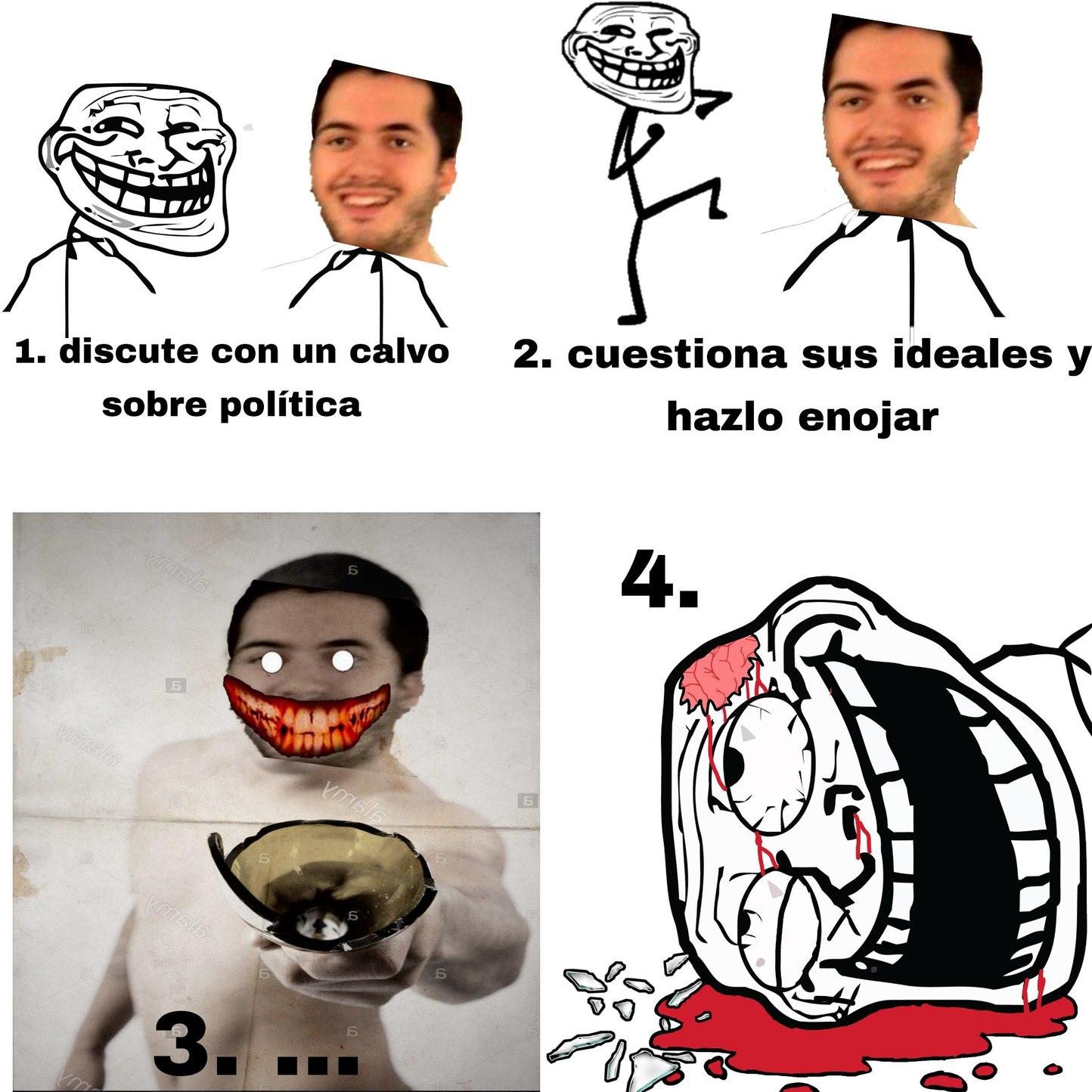 Debatir con wismichu be like: - meme