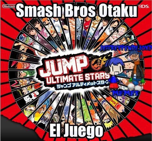 Aunque no sea Otaku jump ultimate stars es mi juego favorito del nintendo ds - meme
