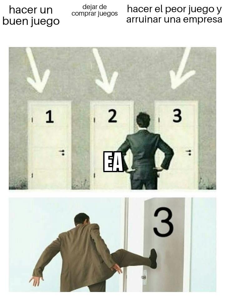 Maldito ea - meme