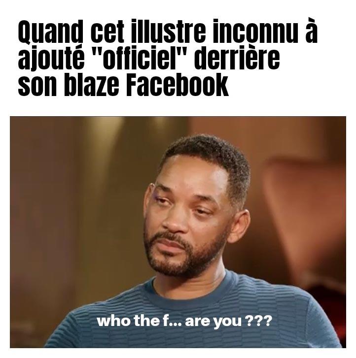 Compte officiel - meme